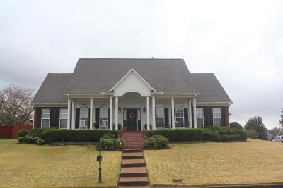 Hernando Single Family Home Active/Contingent: 1254 Lake View Drive