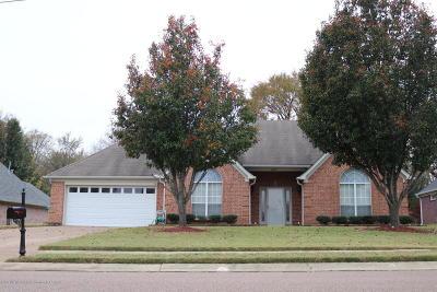 Olive Branch Single Family Home For Sale: 6245 W Sandbourne