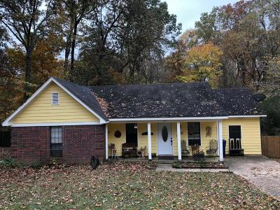 Horn Lake Single Family Home For Sale: 5511 Caroline Drive