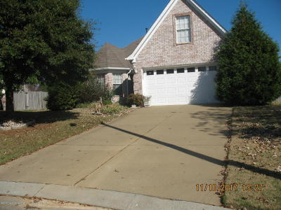 Southaven Single Family Home For Sale: 5970 Fredrick Drive