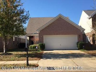 Olive Branch Single Family Home For Sale: 7317 Red Maple Drive
