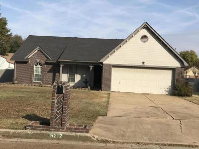 Southaven Single Family Home For Sale: 5212 Plum Tree