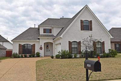 Olive Branch Single Family Home For Sale: 8315 John Wood