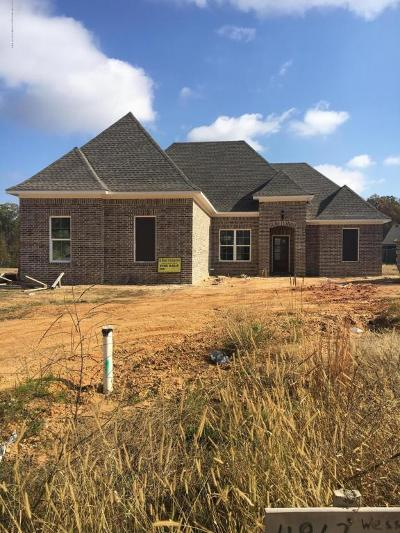 Olive Branch Single Family Home For Sale: 4862 Wesson Heights Drive