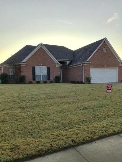 Olive Branch Single Family Home For Sale: 7654 Meadow Ridge