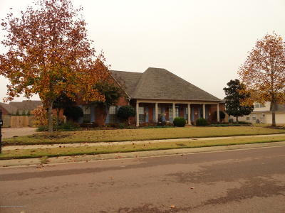 Olive Branch Single Family Home For Sale: 13216 S Three Hawks