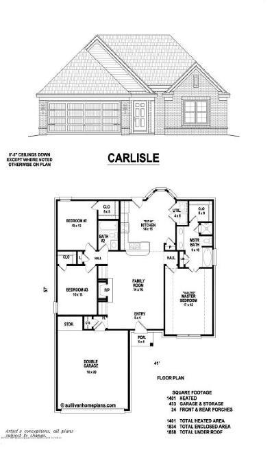 Southaven Single Family Home For Sale: 3775 Jordan View Drive