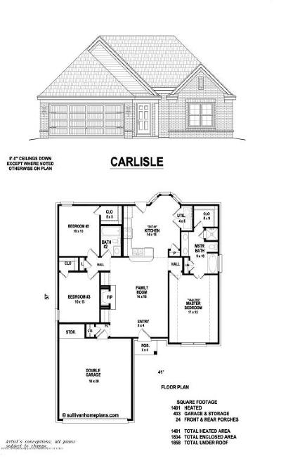 Southaven Single Family Home For Sale: 3720 Jordan Meadows Cove Drive