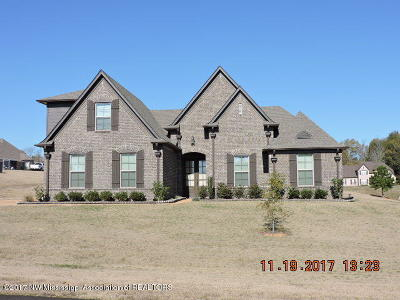 Olive Branch Single Family Home For Sale: 14176 Knightsbridge