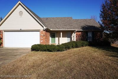 Tate County Single Family Home For Sale: 108 Sweetgum Cove