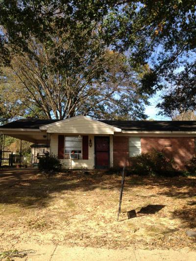 Horn Lake Single Family Home For Sale: 3016 Mayfair Drive