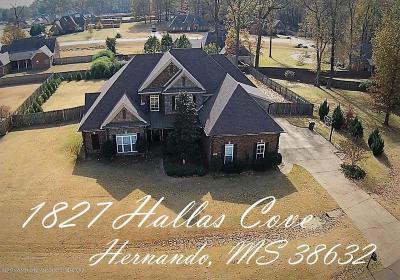 Hernando Single Family Home For Sale: 1827 Hallas Cove