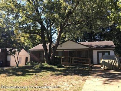 Horn Lake Single Family Home For Sale: 6467 Tulane Rd