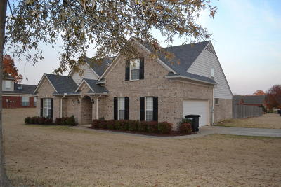 Tate County Single Family Home For Sale: 105 Highland Drive