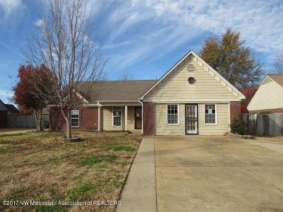 Horn Lake Single Family Home For Sale: 7139 Benji Avenue