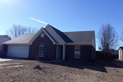 Horn Lake Single Family Home For Sale: 7081 Dunbarton