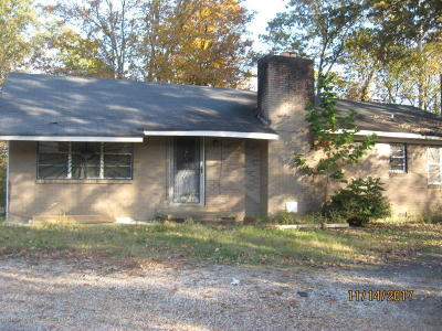Holly Springs Single Family Home For Sale: 1153 Old Hwy 7 S