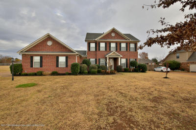Desoto County Single Family Home For Sale: 6820 Cantwell Cove