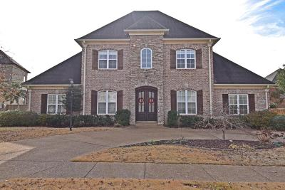 Olive Branch Single Family Home For Sale: 6583 Sundance