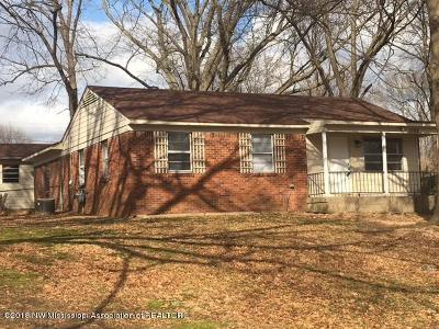 Southaven Single Family Home For Sale: 1968 Poole Cove