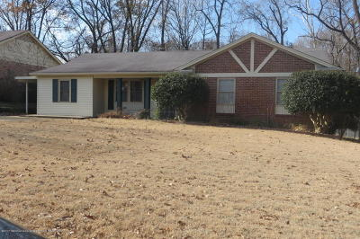 Desoto County Single Family Home For Sale: 7077 W Carrolton
