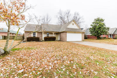 Horn Lake Single Family Home For Sale: 3401 Bayberry Drive