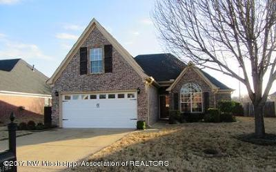 Southaven MS Single Family Home For Sale: $143,900