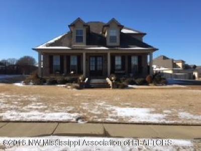 Hernando MS Single Family Home For Sale: $255,000