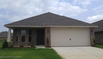 Southaven MS Single Family Home For Sale: $153,100