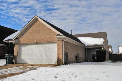 Southaven MS Single Family Home For Sale: $125,000