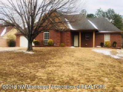 Horn Lake MS Single Family Home For Sale: $121,000