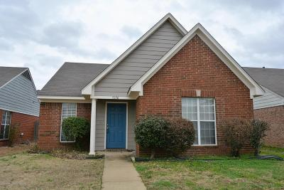 Southaven Single Family Home For Sale: 5336 Kristy Lane