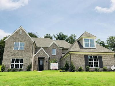 Olive Branch Single Family Home For Sale: 8559 Gwin Hollow Cove