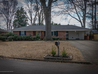 Olive Branch Single Family Home Active/Contingent: 9505 Stuart
