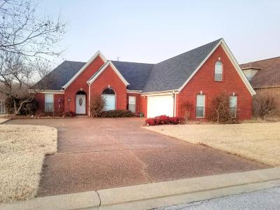 Horn Lake Single Family Home Active/Contingent: 1660 Crossing Drive