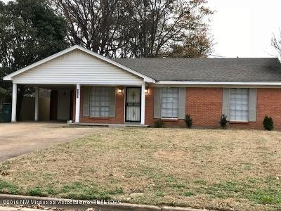 Southaven Single Family Home For Sale: 2280 Coral Hills