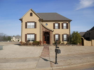 Olive Branch Single Family Home For Sale: 8040 Christian Court