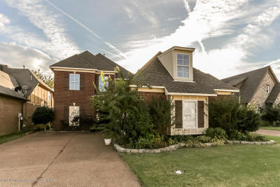 Olive Branch Single Family Home For Sale: 7325 Gerralyn Cove