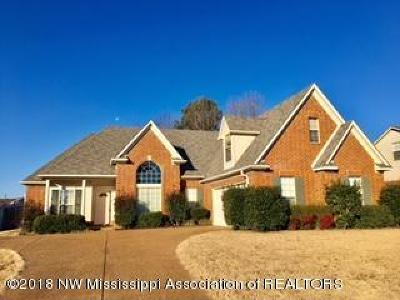 Olive Branch Single Family Home For Sale: 4317 Lexi Drive