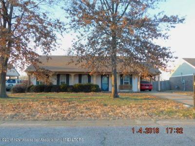 Horn Lake Single Family Home For Sale: 4238 Highgate