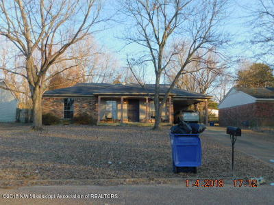 Horn Lake Single Family Home For Sale: 6360 Southbridge