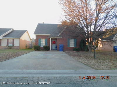 Horn Lake Single Family Home For Sale: 7031 Hampton