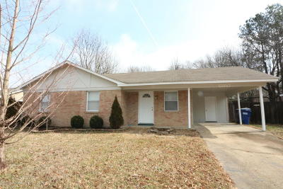 Horn Lake Single Family Home For Sale: 6910 Camelot
