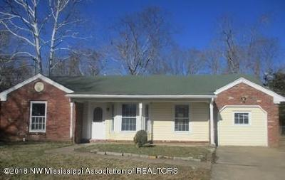 Southaven Single Family Home For Sale: 2240 Cedarwood Cove