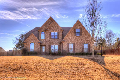 Olive Branch Single Family Home For Sale: 14267 Buttercup Drive