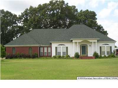 Tate County Single Family Home For Sale: 117 Leslie Drive