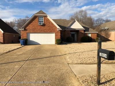 Olive Branch Single Family Home For Sale: 10814 Wellington
