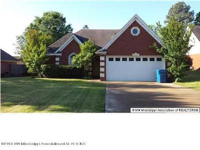 Olive Branch Single Family Home For Sale: 9869 Morgan Manor Drive