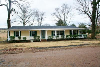 Tate County Single Family Home Active/Contingent: 110 Pine Tree
