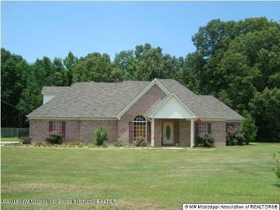 Byhalia Single Family Home For Sale: 165 Dry Field